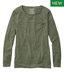 Women's Streamside Tee, Long-Sleeve Crewneck