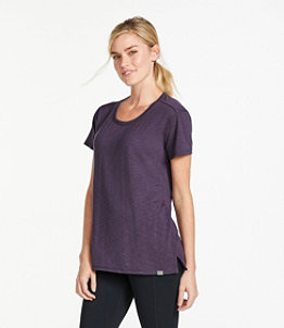 Women's Streamside Tee, Short-Sleeve Open Crewneck
