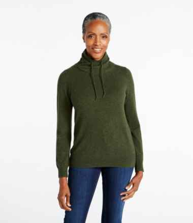 Women's Classic Cashmere Sweater, Funnelneck