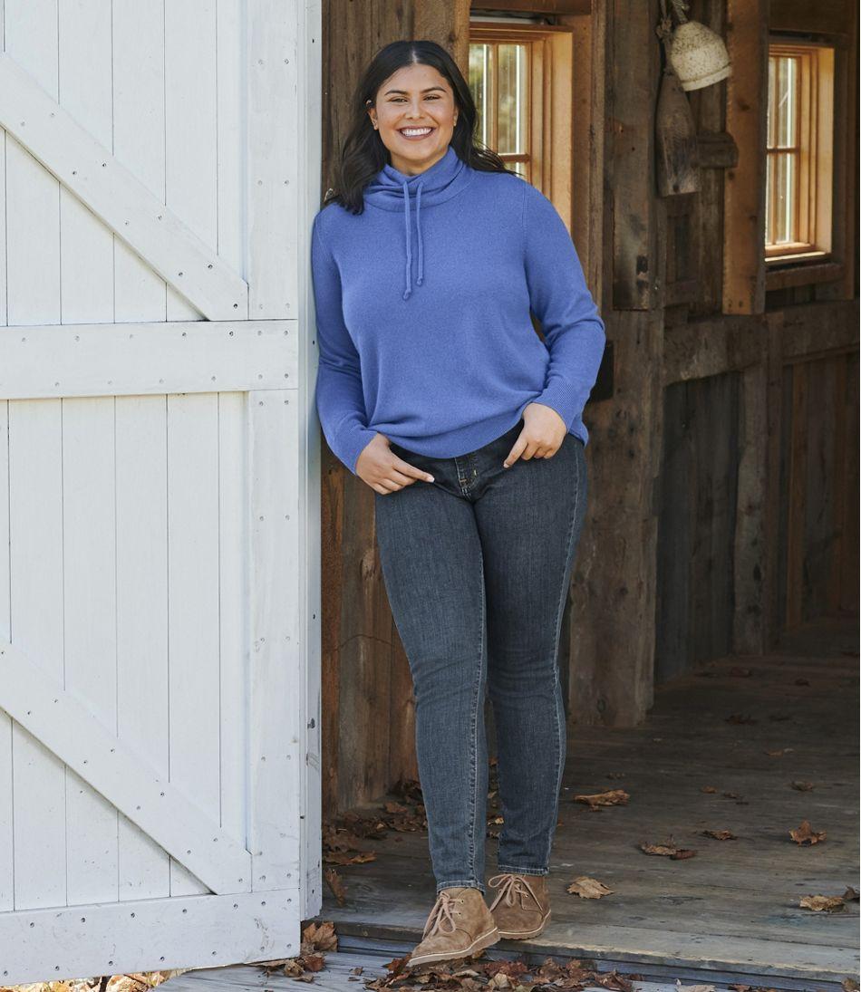Women's Classic Cashmere Sweater, Funnelneck