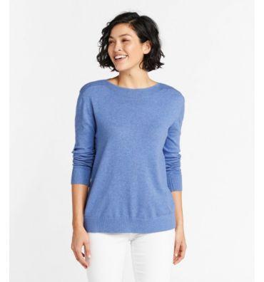 L.L.Bean Women's Cotton/Cashmere Sweater