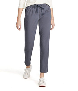 Women's Lakewashed Chino Pants, Pull-On, Ankle