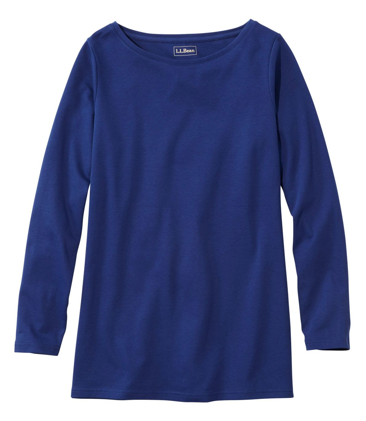 Women's L.L.Bean Tee, Long-Sleeve Boatneck Tunic