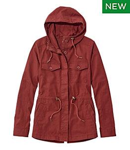 Women's Hooded Ripstop Jacket