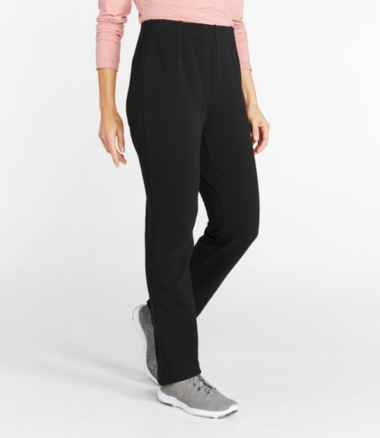 Women's Perfect Fit Pants, Fleece-Backed, Slim-Leg