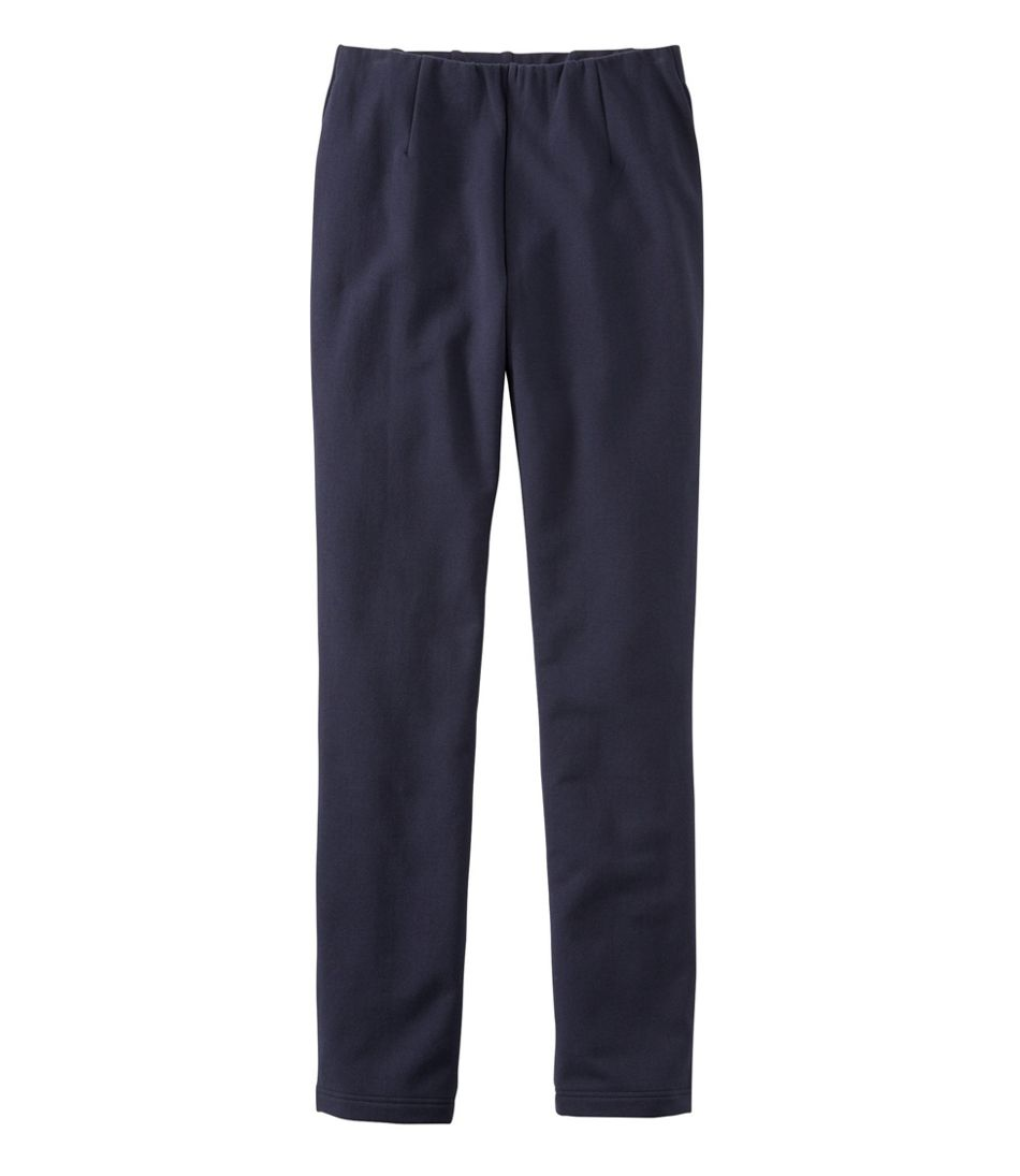 Women's Perfect Fit Pants, Fleece-Backed, Slim-Leg