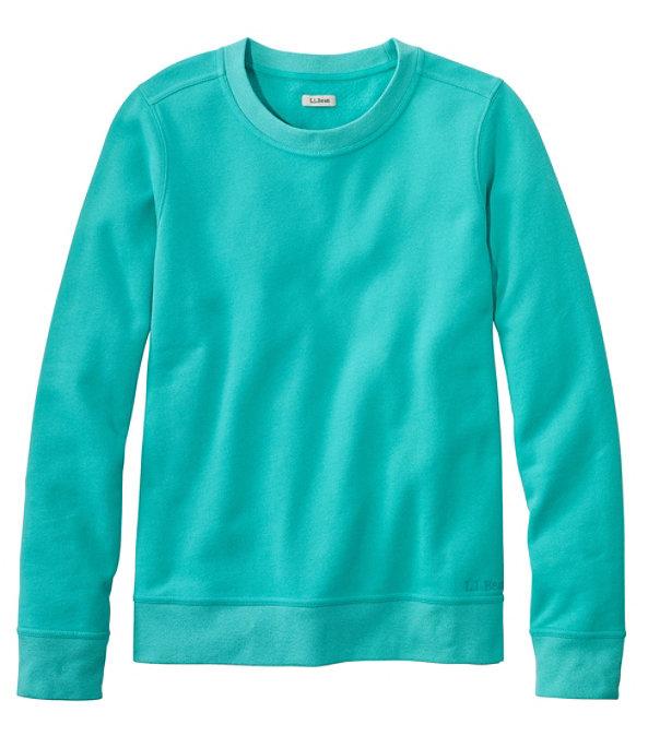 L.L.Bean 1912 Crew Sweatshirt, Reef Teal, large image number 0