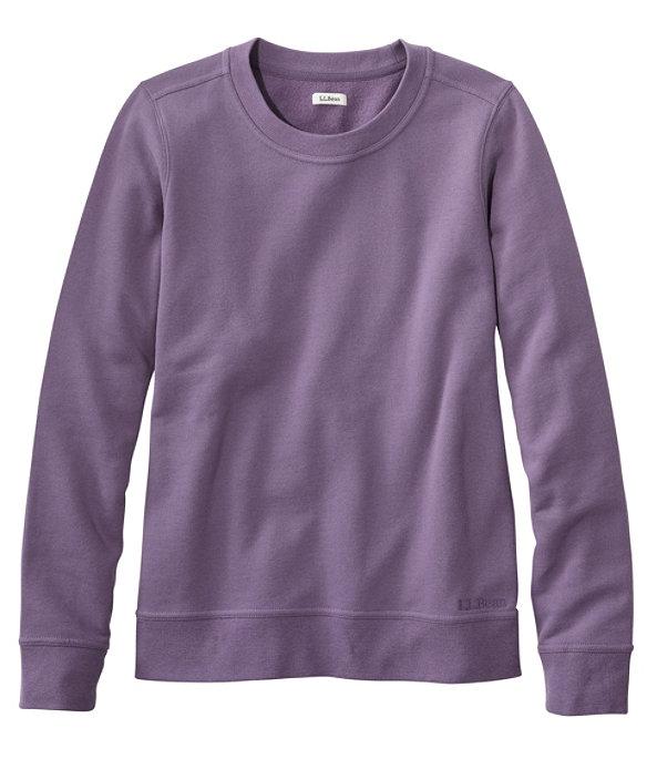 L.L.Bean 1912 Crew Sweatshirt, Muted Purple, large image number 0