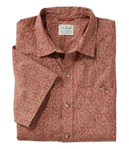 Men's Otter Cliff Shirt, Short-Sleeve Print