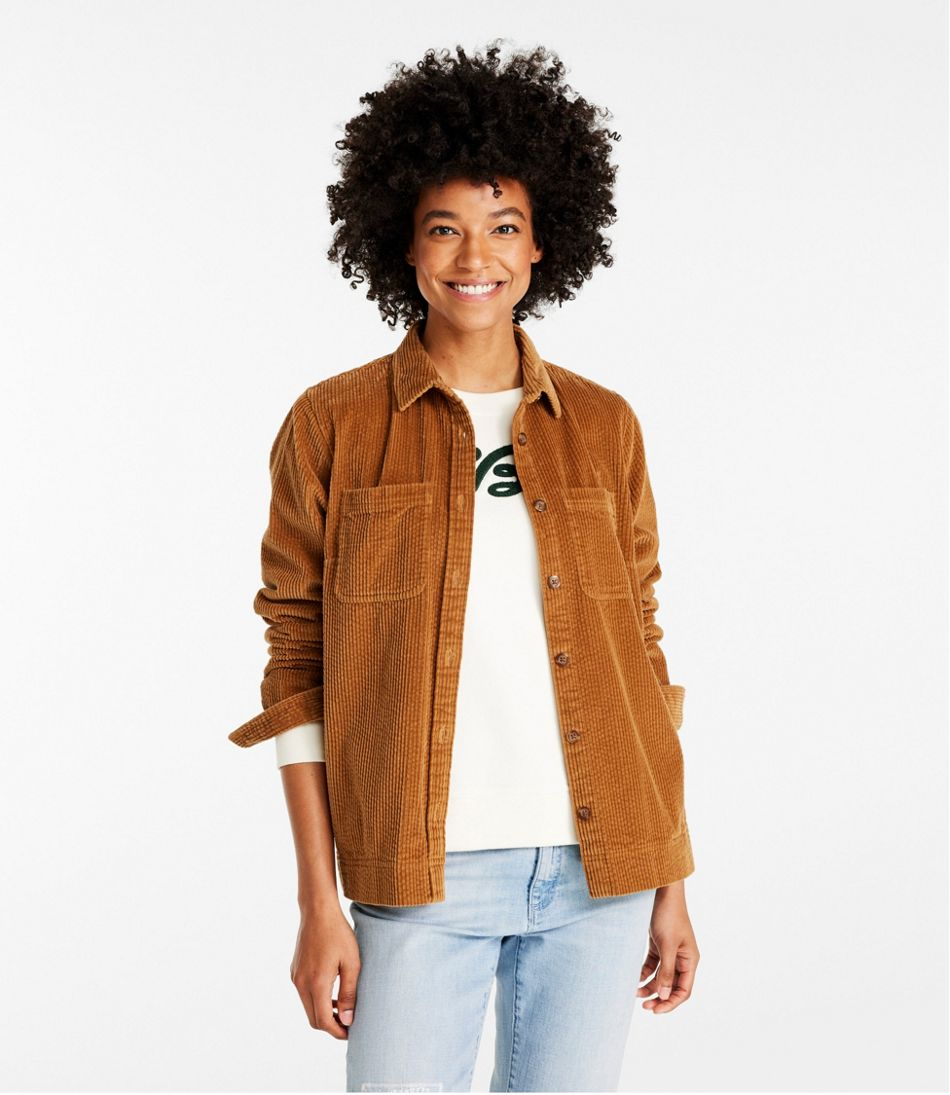Women's Comfort Corduroy Relaxed Shirt
