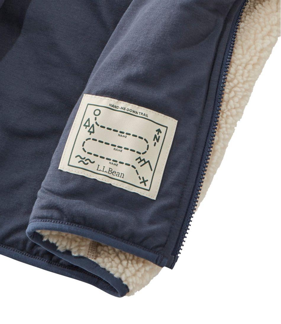 Kids' Sherpa Fleece Hooded Jacket