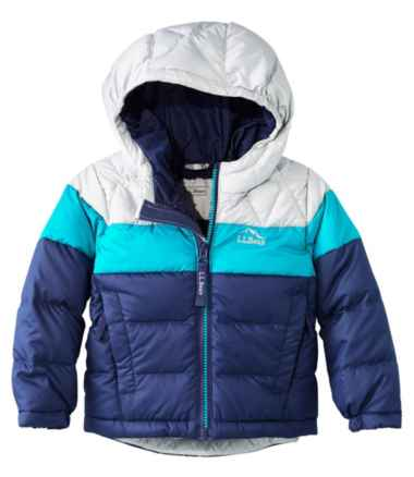 Infants' and Toddlers' L.L.Bean Down Jacket, Colorblock