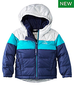 Toddlers' L.L.Bean Down Jacket, Colorblock