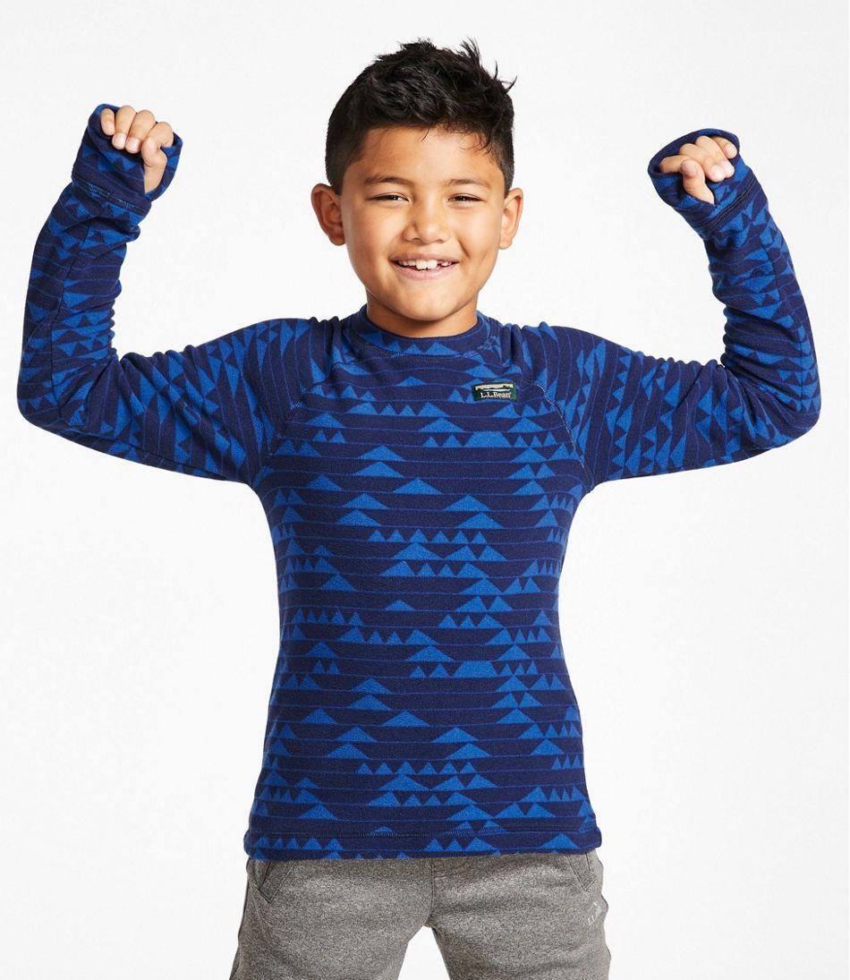 Kids' Fitness Fleece Tee, Long-Sleeve