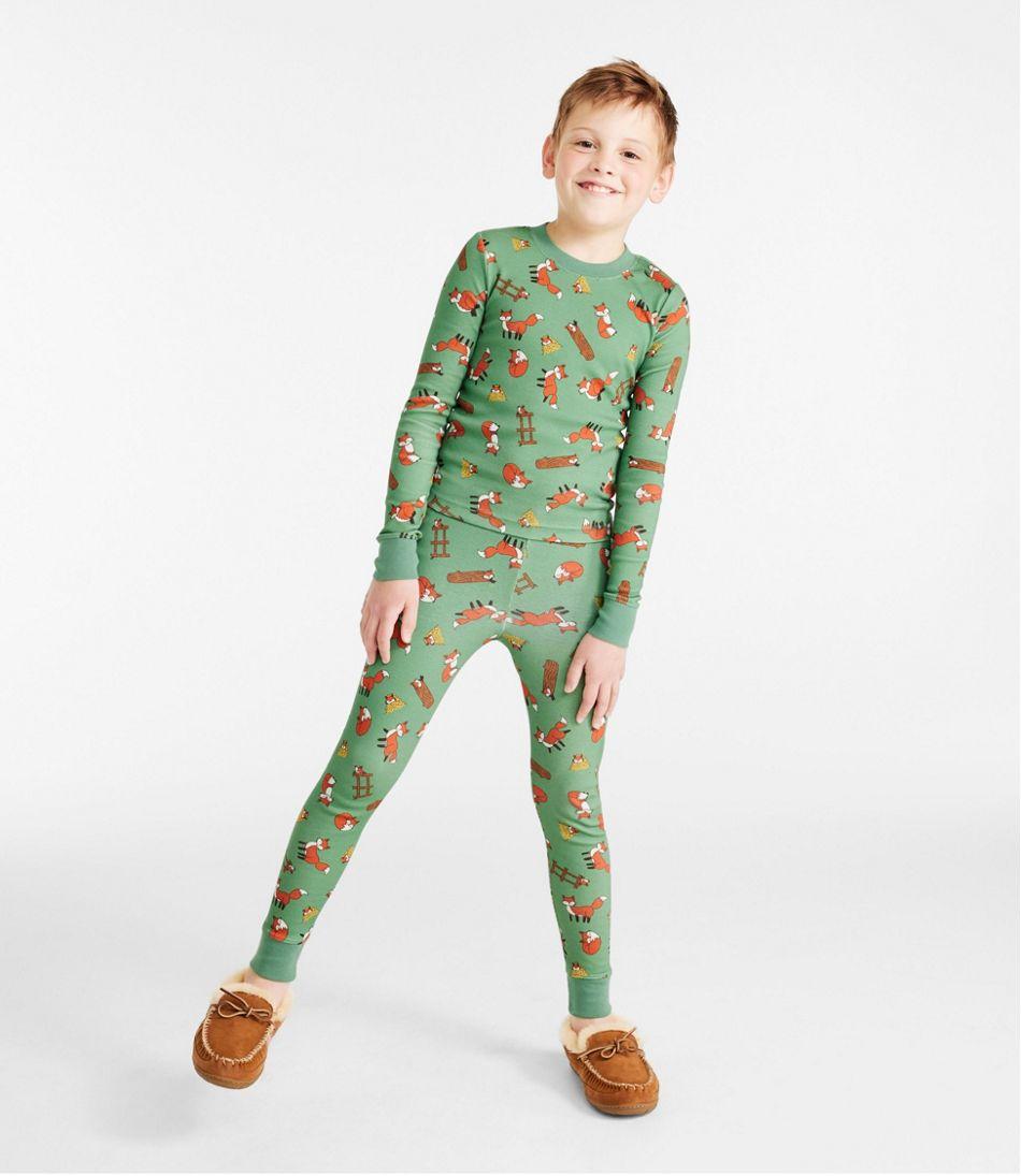 Kids' Organic Cotton Fitted Pajamas