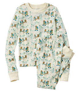 Kids' Organic Fitted Pajamas