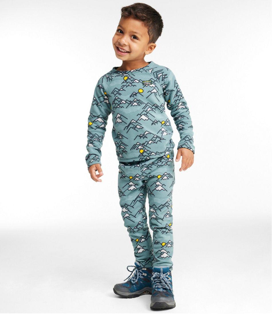 Toddlers' Fitness Fleece Long-Sleeve Tee/Pants Set