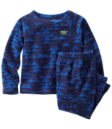 Toddlers' Fitness Fleece Long-Sleeve Tee/Pants Set