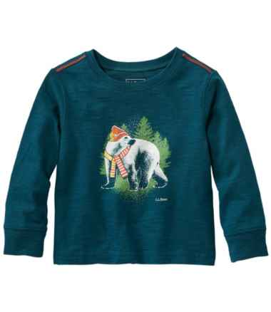 Infants' & Toddlers' Graphic Tee II, Long-Sleeve