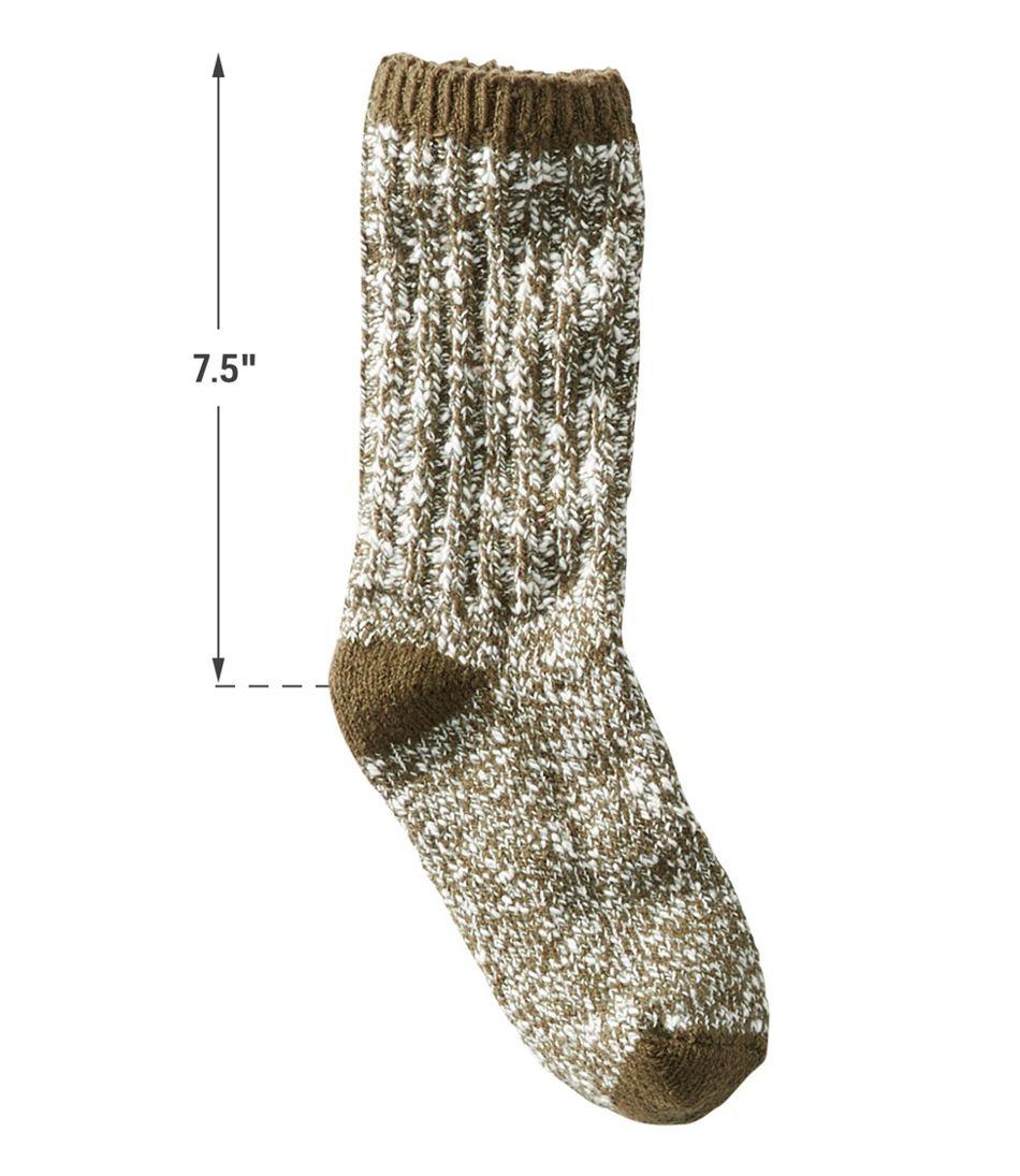 Adults' Cotton Ragg Sock, 2-Pack