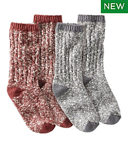 Adults' Cotton Ragg Sock, 2-Pack