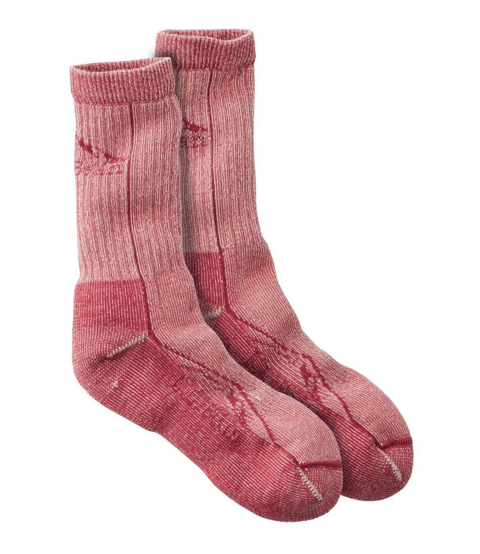 Adults' Cresta Wool Midweight Hiking Socks, Crew