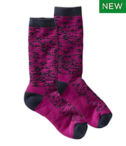 Women's L.L.Bean Campside Wool Socks
