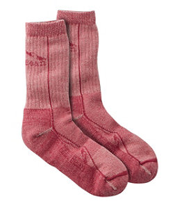 Adults' Cresta Wool Lightweight Hiking Socks, Crew