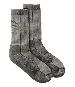 Adults' Cresta Wool Lightweight Hiking Socks, Crew