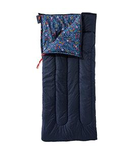 Kids' L.L.Bean Cotton-Blend Camp Sleeping Bag, 40°