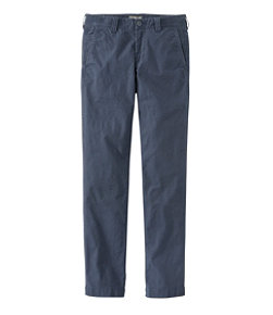 Men's Signature Stretch Washed Canvas Cloth Pants