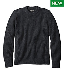 Men's Signature Shaker Stitch Sweater, Crewneck