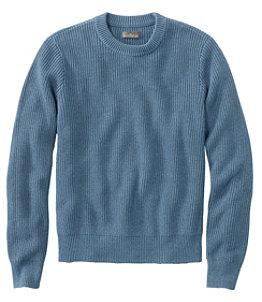 Men's Signature Shaker Stitch Sweater, Crewneck