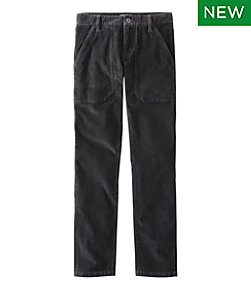 Men's Signature Stretch Washed Corduroy Pants
