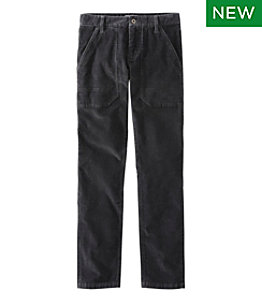 Men's Signature Stretch Washed Corduroy Pants