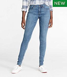 Women's Signature Premium Skinny Jeans, Frayed