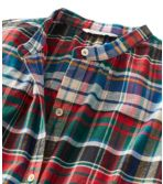 Women's Signature Lightweight Flannel Shirt, Collarless