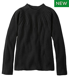 Signature Cashmere Blend Jewelneck Sweater Women's Regular