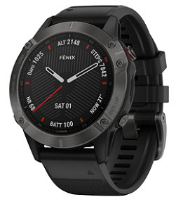 Adults' Garmin Fenix 6 Sapphire Watch
