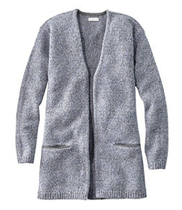 Women's Signature Ragg Wool Open Cardigan