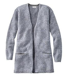Women's Signature Ragg Wool Open Cardigan
