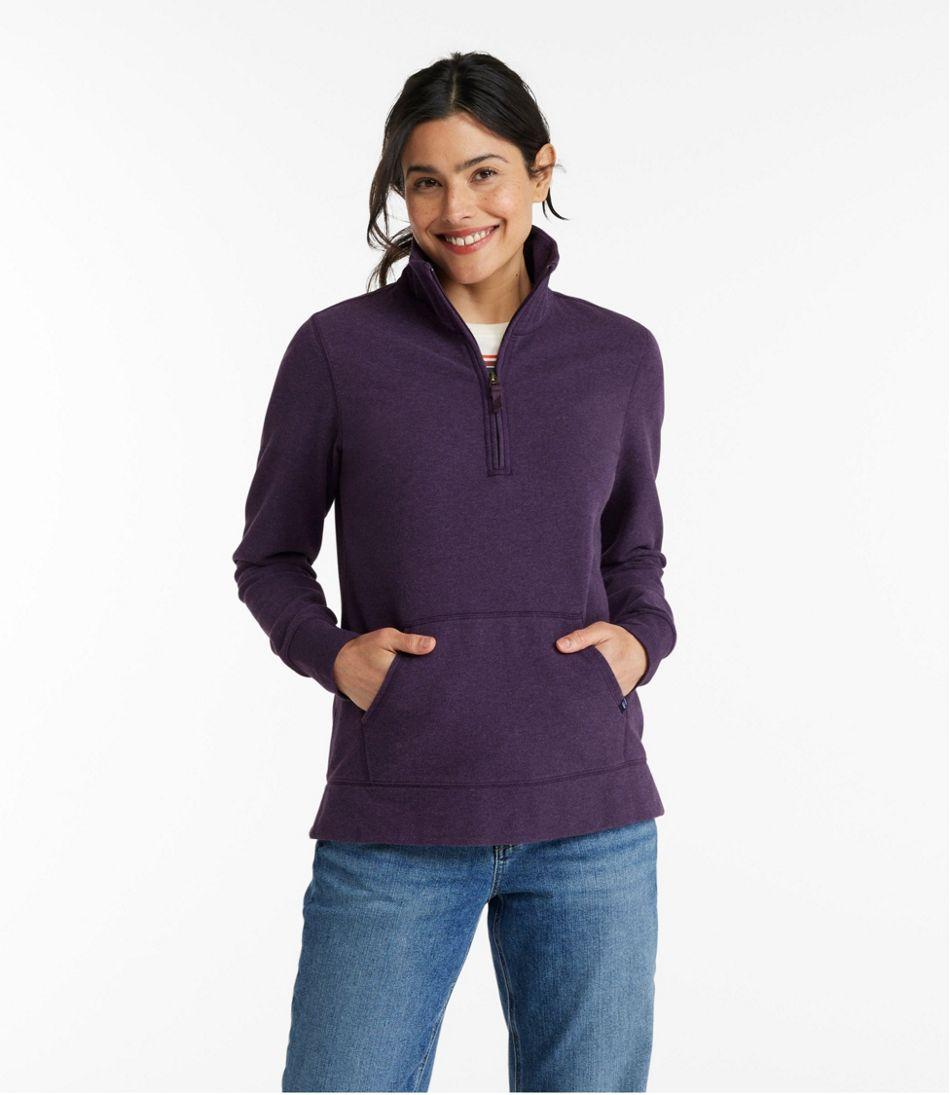 Women's Ultrasoft Sweats, Quarter-Zip Pullover