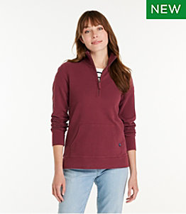 Women's Ultrasoft Sweats, Quarter-Zip Pullover