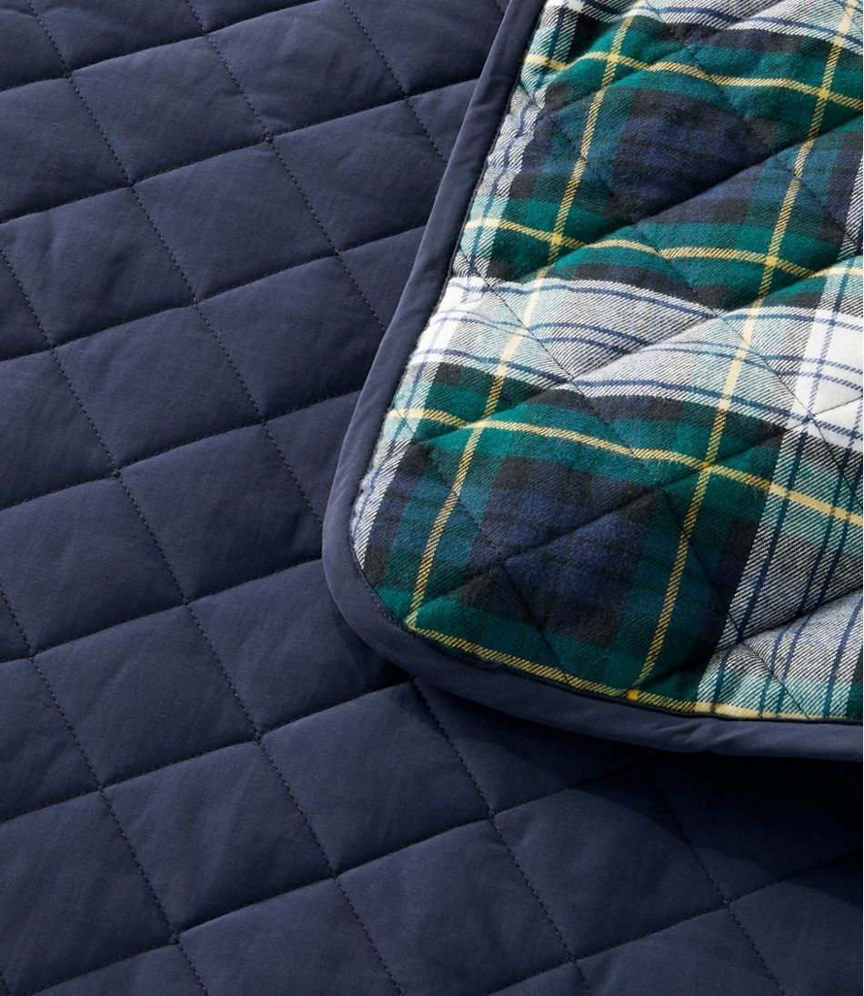 Reversible Quilted Dog Blanket