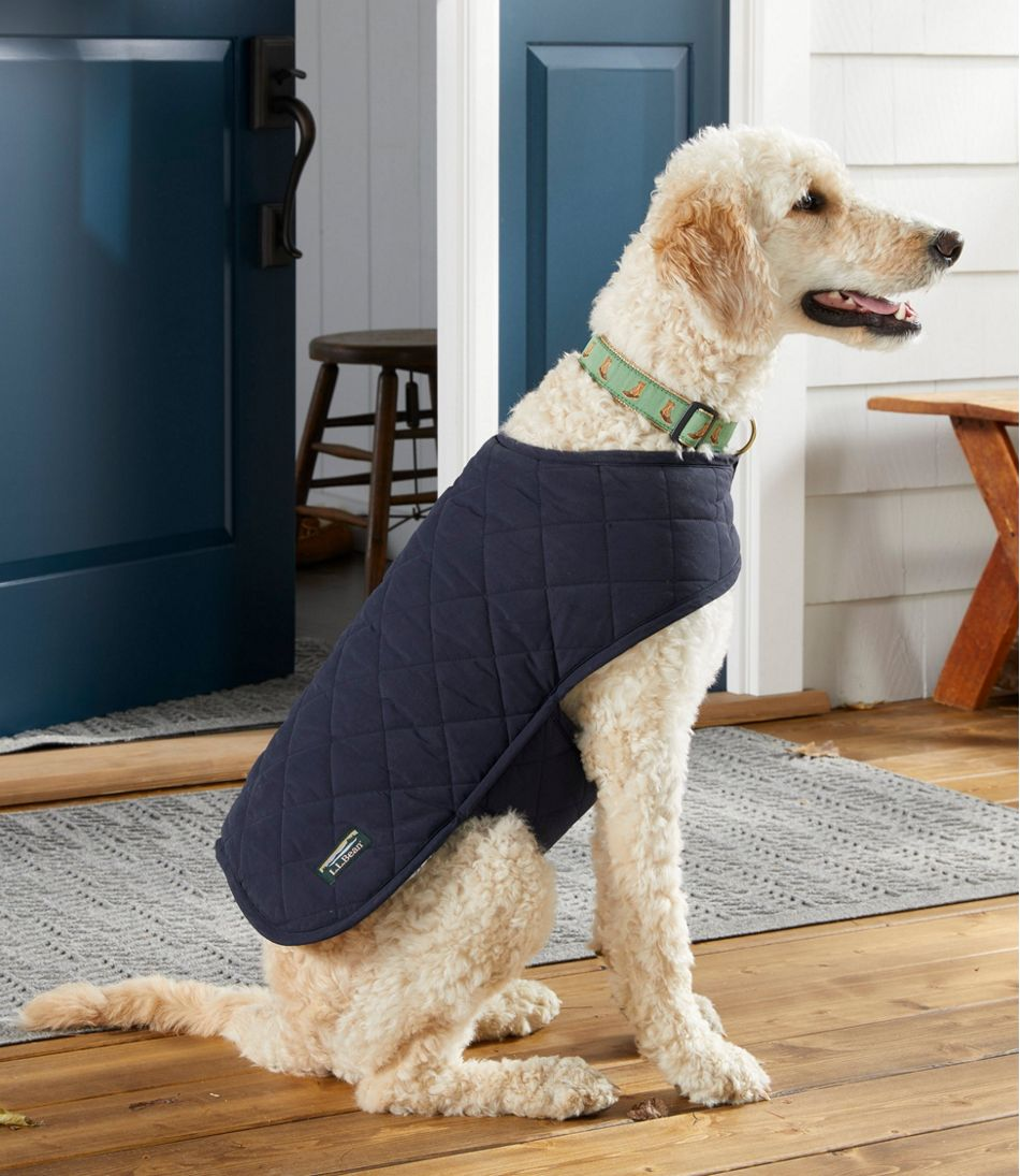 Reversible Quilted Dog Vest