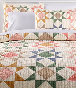 North Star Patchwork Quilt Collection