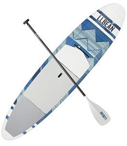 "L.L.Bean Breakwater Print ACE-TEC Stand-Up Paddleboard 11' 6"" Package"