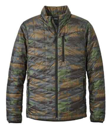 Men's Primaloft Packaway Jacket, Print
