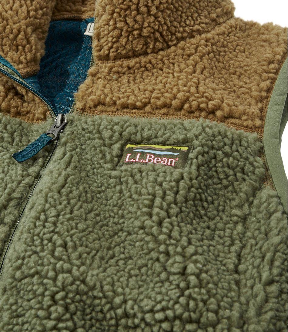 Women's Mountain Pile Fleece Vest, Colorblock