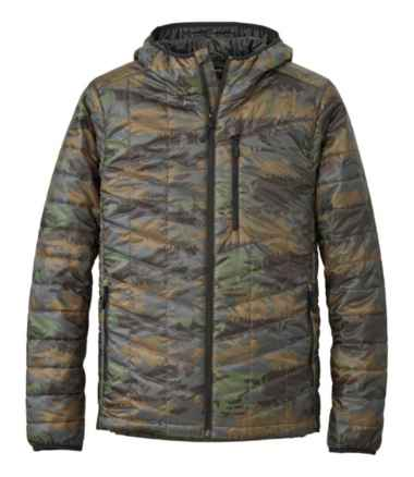 Men's Primaloft Packaway Hooded Jacket, Print